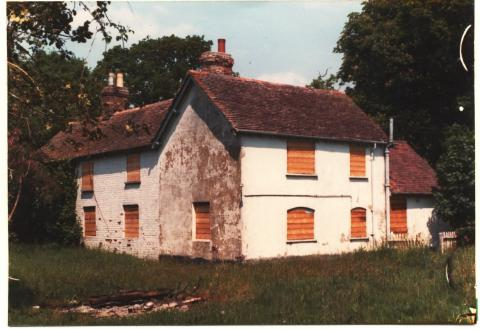 The original Digby's Cottages in 1982