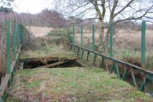 Photo of post-war bridge