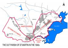 The out-parish of St.Martins in the 1840s